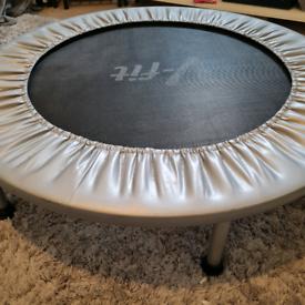 V-fit workout trampoline, free hula hoop