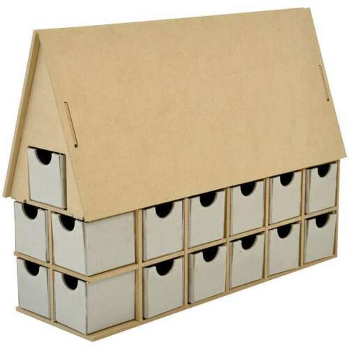DIY House Advent Calendar Christmas Countdown Beyond the Page