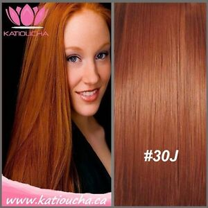 """Clip in hair extension,60 cm,24"""",NEW COLORS!!! AUBURN,COPPER RED"""