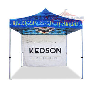 DELUXE CANOPY POP UP CANOPY TENTS, FLAGS, TABLE COVERS