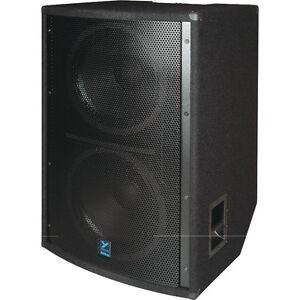 "YORKVILLE SOUND LS1004 2 X 18"" ELITE SERIES PASSIVE SUBWOOFER"