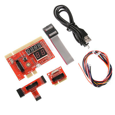 PCI/PCIE/LPC/EC Mainboard Diagnostic Analyzer Card Tester PC Notebook Universal