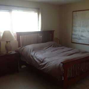 2 Bdrm All Inclusive Daylight Bsmt Suite - Private Entrance