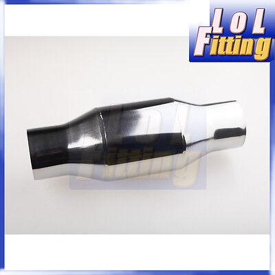 "Universal 100 Cell High Flow Metallic-Core Race Catalytic Converter 2.25"""