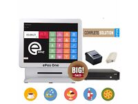 ePos POS system all in one package double screen!