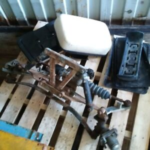 Front End off 1997 Club Car DS & 2 used seat backs for sale