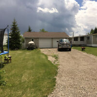 4 Bedroom Home W/ Large Garage on 1 Acre Minutes West Of Sundre
