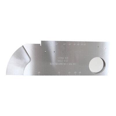Yushi Ndt Iiw-type 2 Calibration Block Ultrasonic Testing Meter 1018 Steel