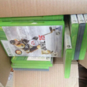 18 Xbox 360 various games $25 for all