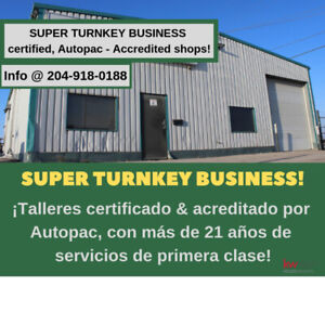 Certified, Autopac-Accredited body-shops - For Sale!