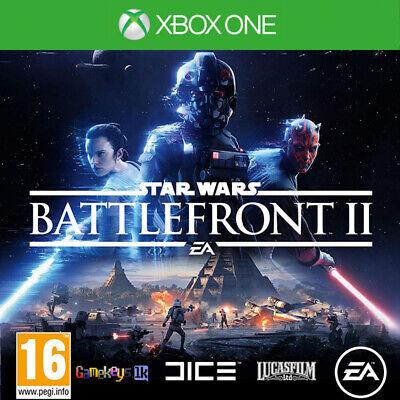 Star Wars Battlefront II 2 Xbox One Key US Region Only (No CD/DVD) USA
