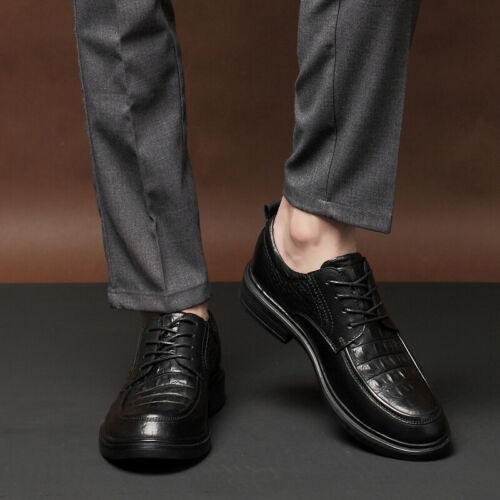 Details about  /Mens Low Top Business Leisure Shoes Pointy Toe Oxfords Slip on Party Office 47 L