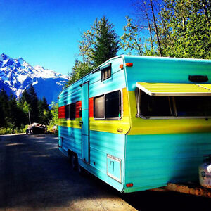 1975 Kustom Koach travel trailer