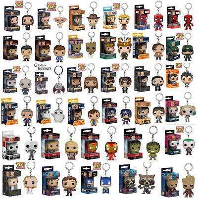 Funko Bolsillo Pop Llavero Groot ,Hulkbuster,Thanos,Rocked Figura de Vinilo