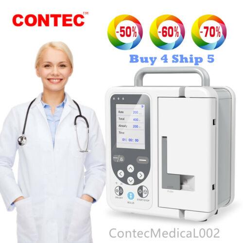 Volumetric Infusion Pump IV Fluid Syringe Pump Equipment Alarm Calibration SP750