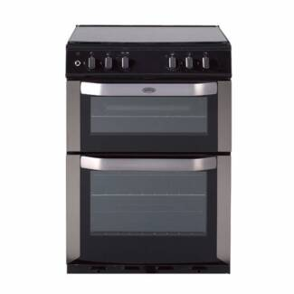 Brand New Belling 60cm Dual Fuel Double Oven Cooker