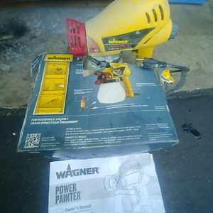 WAGNER electric airless paint sprayer 2200psi mint