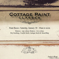 Cottage Paint Class - Saturday, January 30
