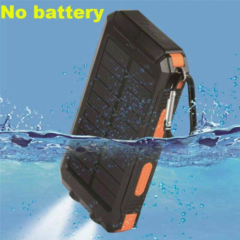 300000mAh Waterproof Charger Solar Outdoors Dual USB Solar B