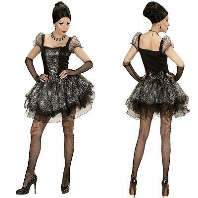 SPIDER LADY Schwarze Witwe Damen SPINNEN Kostüm S, M, L, XL Karneval (Spider Lady Kostüm)