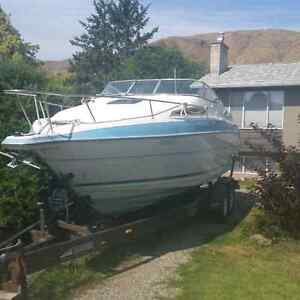 26 foot welcraft fishing boat
