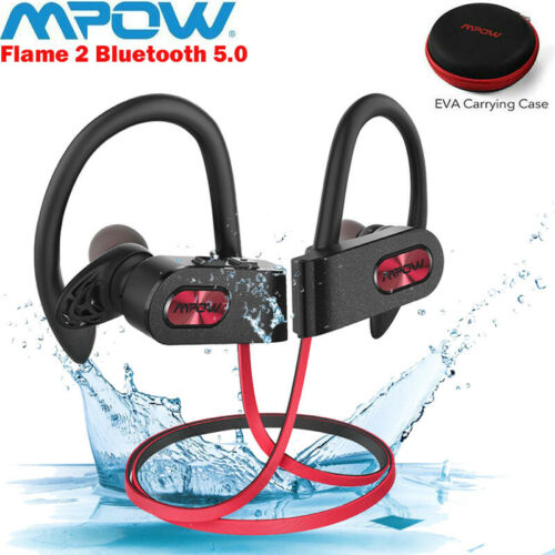 Mpow Flame2 Bluetooth 5.0 Headphones IPX7 Waterproof Sport S