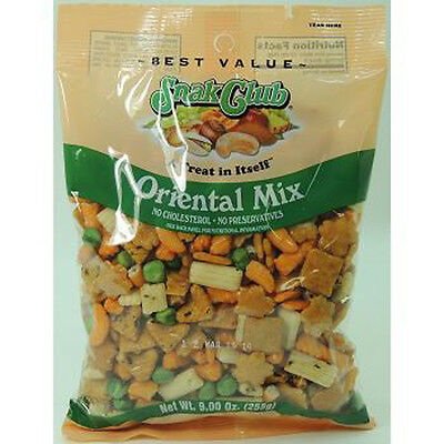 Snak Club Best Value Oriental Party Mix 7 Oz Each ( 6 In A Pack ) ()