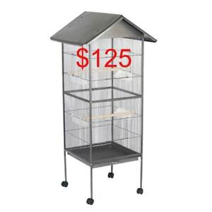 160 cm Large Bird Cage Parrot Aviary Pet Stand-alone Budgie