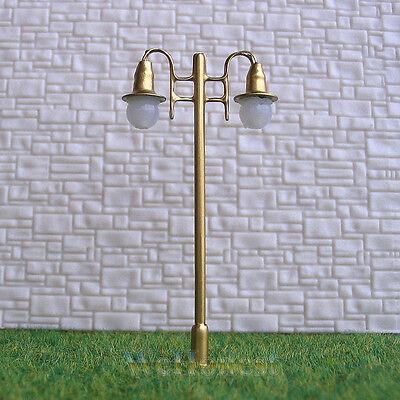 5 x OO / HO Scale Model Train Lamps Railroad Lamp posts 12V Street Lights  #G006