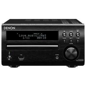 Denon DM40DAB CD/DAB/DAB+/FM/USB Micro System black