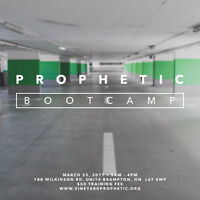 PROPHETIC BOOTCAMP - Hear the Voice of God