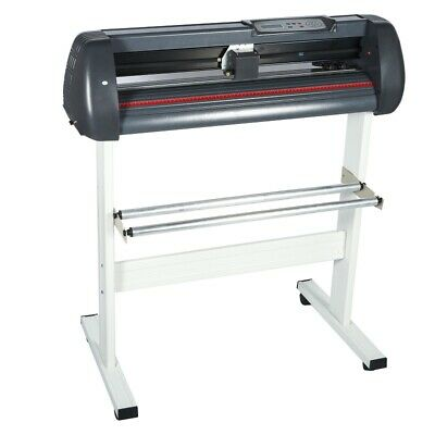 Used 34 Inch Adjustable Width Cutting Plotter Moveable Stand Vinyl Cutter