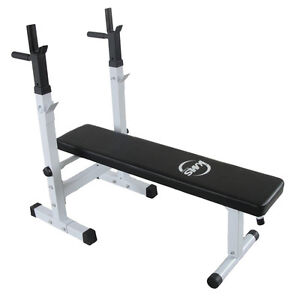 Free Weights and workout bench