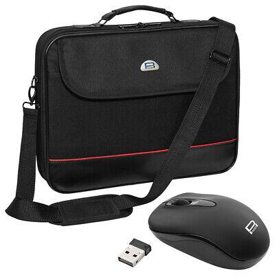 NOTEBOOK Laptop TASCHE 12 / 13 / 13,3 / 14 Zoll NOTEBOOKTASCHE + schnurlose Maus