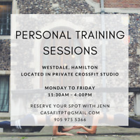 20% OFF MAY SESSIONS - Personal Training in CrossFit Gym