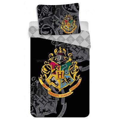 Harry Potter Hogwarts Jugend Kinder Bettwäsche Set 135-140 x 200 cm Duvet NEU