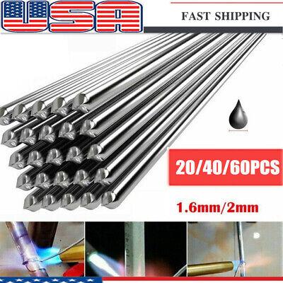 204060pcs Aluminum Solution Welding Flux-cored Rods Wire Brazing Rod 2mm1.6mm