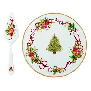 Royal Albert Cake Plate and Server Windsor Region Ontario image 5