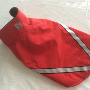 Dog Jacket Red colour- Like New! Size Medium