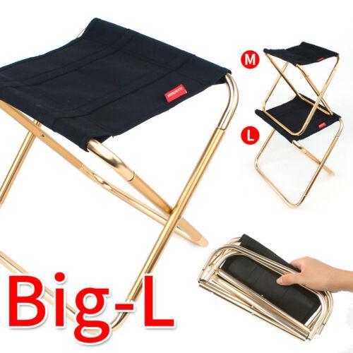 Portable Folding Chair Camping Fishing Picnic Hiking Beach BBQ Stools Mini Seat