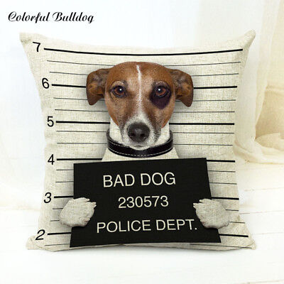 Jack Russell Gifts Cushion Cover 45cm x 45cm Fun Gift Present