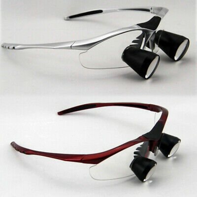 Dental Loupes Binocular Ttl 2.5x Surgical Magnifier Glasses 400-600mm Customize