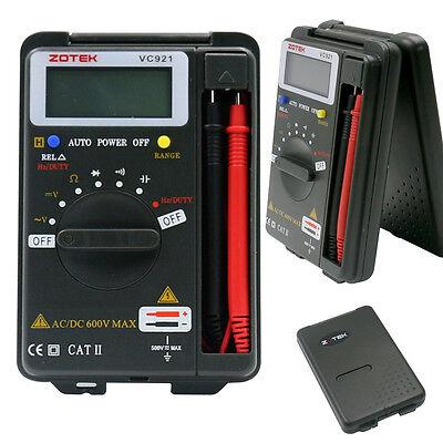 New Mini Vc921 34 Dmm Addc Multimeter Pocket Digital Multimeter Frequency