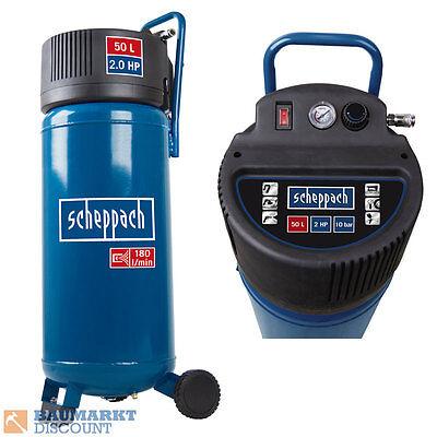 Scheppach Kompressor HC50V Ölfrei 50 Liter Kessel