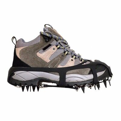 Spikes Ice Traction Cleats Strengthen Steel 18 teeth Crampons Climbing Footwear