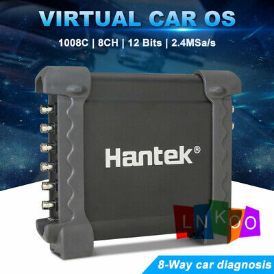 Hantek 1008c 8ch Pc Usb Automotive Diagnostic Digital Oscilloscope Daq Us Plug
