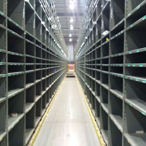 Largest stock of used shelving in Ontario! Starting at $3 shelf