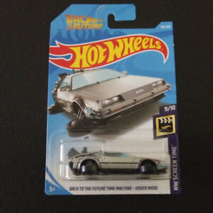 Hotwheels Back to the future time machine hover mode