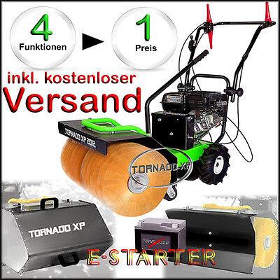 Kehrmaschine Schneefeger für Schnee Schmutz  mit Elektro-Starter  4 in 1 Gerät