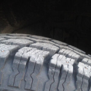 Studded Winter Tires - 2003 Nissan Pathfinder - used one winter